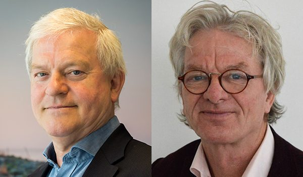 bestuursleden Paul en Jan Willem